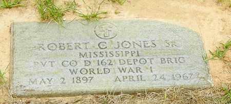 JONES (VETERAN WWI), ROBERT C SR - Jefferson Davis County, Mississippi | ROBERT C SR JONES (VETERAN WWI) - Mississippi Gravestone Photos