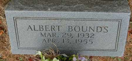 BOUNDS, ALBERT - Marion County, Mississippi | ALBERT BOUNDS - Mississippi Gravestone Photos