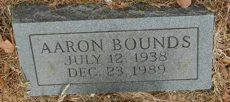 BOUNDS, AARON - Marion County, Mississippi   AARON BOUNDS - Mississippi Gravestone Photos