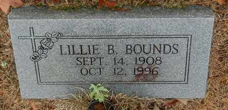 BOUNDS, LILLIE B - Marion County, Mississippi | LILLIE B BOUNDS - Mississippi Gravestone Photos