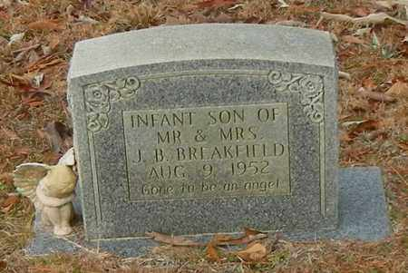 BREAKFIELD, INFANT - Marion County, Mississippi   INFANT BREAKFIELD - Mississippi Gravestone Photos