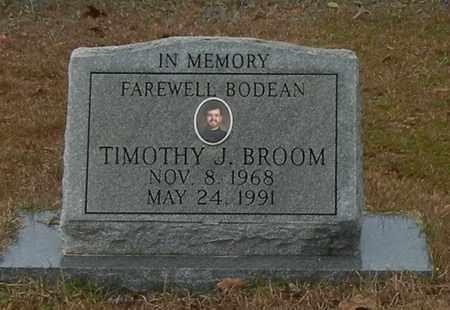 BROOM, TIMOTHY J - Marion County, Mississippi | TIMOTHY J BROOM - Mississippi Gravestone Photos