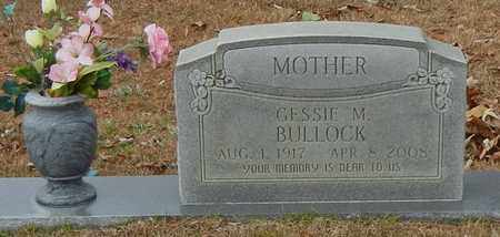 MOREE BULLOCK (CLOSE UP), GESSIE M - Marion County, Mississippi | GESSIE M MOREE BULLOCK (CLOSE UP) - Mississippi Gravestone Photos