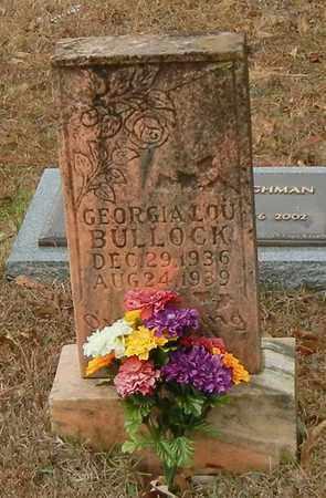 BULLOCK, GEORGIA LOU - Marion County, Mississippi | GEORGIA LOU BULLOCK - Mississippi Gravestone Photos