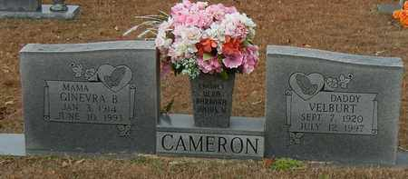 CAMERON, GINEVRA B - Marion County, Mississippi   GINEVRA B CAMERON - Mississippi Gravestone Photos