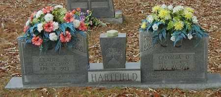 HARTFIELD, GEORGIA O - Marion County, Mississippi | GEORGIA O HARTFIELD - Mississippi Gravestone Photos