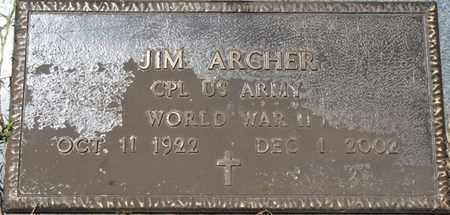 "ARCHER (VETERAN WWII), JAMES WESLEY ""JIM"" - Prentiss County, Mississippi | JAMES WESLEY ""JIM"" ARCHER (VETERAN WWII) - Mississippi Gravestone Photos"