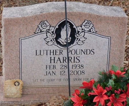 HARRIS, LUTHER POUNDS - Prentiss County, Mississippi | LUTHER POUNDS HARRIS - Mississippi Gravestone Photos