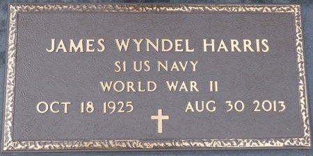 HARRIS (VETERAN WWII), JAMES WYNDEL - Prentiss County, Mississippi | JAMES WYNDEL HARRIS (VETERAN WWII) - Mississippi Gravestone Photos