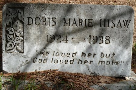 HISAW, DORIS MARIE - Prentiss County, Mississippi | DORIS MARIE HISAW - Mississippi Gravestone Photos