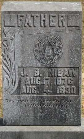 HISAW, J.B. - Prentiss County, Mississippi | J.B. HISAW - Mississippi Gravestone Photos