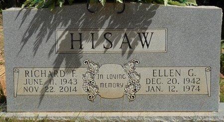 HISAW, RICHARD F - Prentiss County, Mississippi   RICHARD F HISAW - Mississippi Gravestone Photos