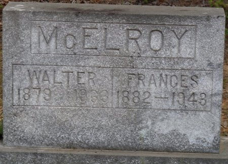 MCELROY, WALTER - Prentiss County, Mississippi | WALTER MCELROY - Mississippi Gravestone Photos