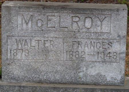 MCELROY, FRANCES - Prentiss County, Mississippi | FRANCES MCELROY - Mississippi Gravestone Photos