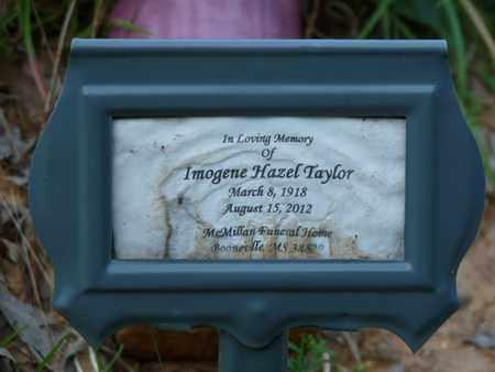 TAYLOR, IMOGENE HAZEL - Prentiss County, Mississippi | IMOGENE HAZEL TAYLOR - Mississippi Gravestone Photos