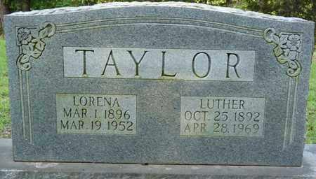 TAYLOR, LORENA - Prentiss County, Mississippi | LORENA TAYLOR - Mississippi Gravestone Photos