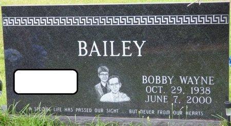 BAILEY, BOBBY WAYNE - Tishomingo County, Mississippi | BOBBY WAYNE BAILEY - Mississippi Gravestone Photos