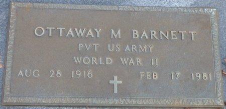 "BARNETT (VETERAN WWII), OTTAWAY M. ""OTTIE"" - Tishomingo County, Mississippi | OTTAWAY M. ""OTTIE"" BARNETT (VETERAN WWII) - Mississippi Gravestone Photos"