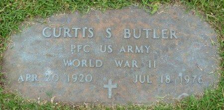 BUTLER (VETERAN WWII), CURTIS S - Tishomingo County, Mississippi   CURTIS S BUTLER (VETERAN WWII) - Mississippi Gravestone Photos