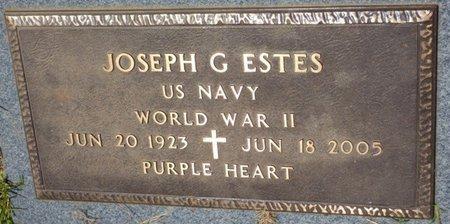 ESTES (VETERAN WWII), JOSEPH GORDON (NEW) - Tishomingo County, Mississippi | JOSEPH GORDON (NEW) ESTES (VETERAN WWII) - Mississippi Gravestone Photos