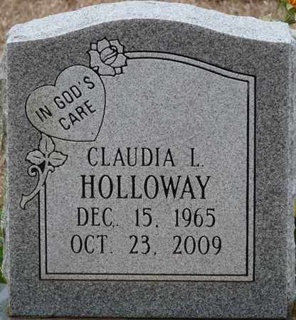 HOLLOWAY, CLAUDIA L - Tishomingo County, Mississippi | CLAUDIA L HOLLOWAY - Mississippi Gravestone Photos
