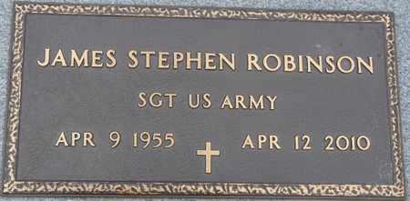 ROBINSON (VETERAN), JAMES STEPHEN - Tishomingo County, Mississippi | JAMES STEPHEN ROBINSON (VETERAN) - Mississippi Gravestone Photos