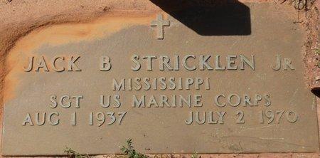 STRICKLEN JR. (VETERAN), JACK B - Tishomingo County, Mississippi | JACK B STRICKLEN JR. (VETERAN) - Mississippi Gravestone Photos