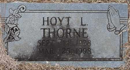 THORNE, HOYT L - Tishomingo County, Mississippi   HOYT L THORNE - Mississippi Gravestone Photos