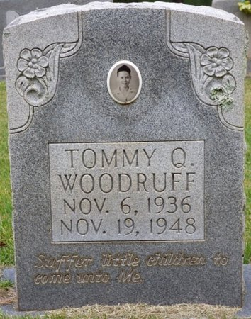 WOODRUFF, TOMMY Q - Tishomingo County, Mississippi | TOMMY Q WOODRUFF - Mississippi Gravestone Photos