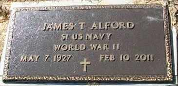 ALFORD (VETERAN WWII), JAMES T - Walthall County, Mississippi | JAMES T ALFORD (VETERAN WWII) - Mississippi Gravestone Photos