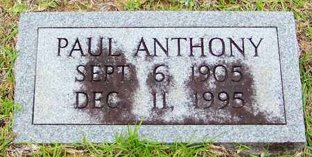 ANTHONY (2ND MARKER), GEORGE PAUL - Walthall County, Mississippi   GEORGE PAUL ANTHONY (2ND MARKER) - Mississippi Gravestone Photos