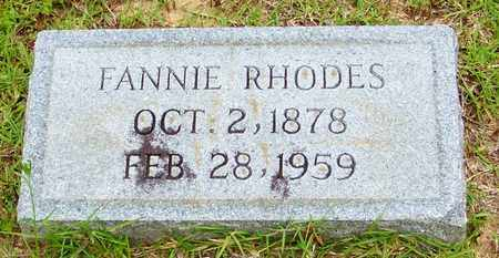 RHODES ANTHONY, FANNIE - Walthall County, Mississippi | FANNIE RHODES ANTHONY - Mississippi Gravestone Photos