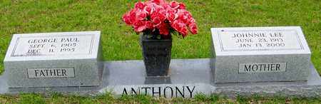 ANTHONY, GEORGE PAUL - Walthall County, Mississippi   GEORGE PAUL ANTHONY - Mississippi Gravestone Photos