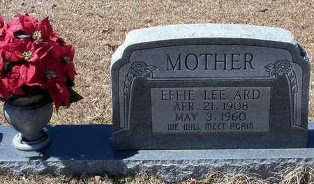 ARD, EFFIE LEE - Walthall County, Mississippi | EFFIE LEE ARD - Mississippi Gravestone Photos