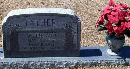 ARD, WILLIE - Walthall County, Mississippi | WILLIE ARD - Mississippi Gravestone Photos