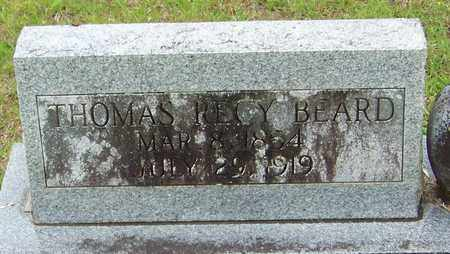 BEARD (CLOSE UP), THOMAS RECY - Walthall County, Mississippi   THOMAS RECY BEARD (CLOSE UP) - Mississippi Gravestone Photos