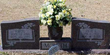 MCBETH, OCIE L - Walthall County, Mississippi | OCIE L MCBETH - Mississippi Gravestone Photos