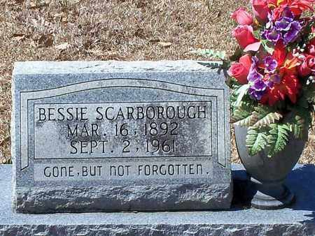 SCARBOROUGH, BESSIE - Walthall County, Mississippi | BESSIE SCARBOROUGH - Mississippi Gravestone Photos