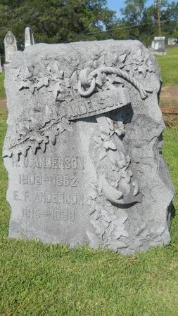 ANDERSON, EMILY FRANKLIN - Warren County, Mississippi | EMILY FRANKLIN ANDERSON - Mississippi Gravestone Photos