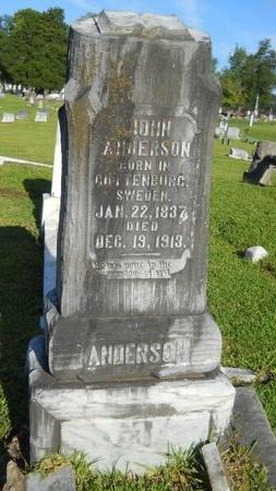 ANDERSON, JOHN - Warren County, Mississippi | JOHN ANDERSON - Mississippi Gravestone Photos
