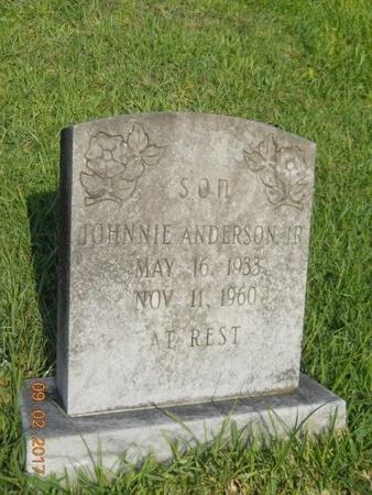 ANDERSON, JOHNNIE, JR - Warren County, Mississippi | JOHNNIE, JR ANDERSON - Mississippi Gravestone Photos