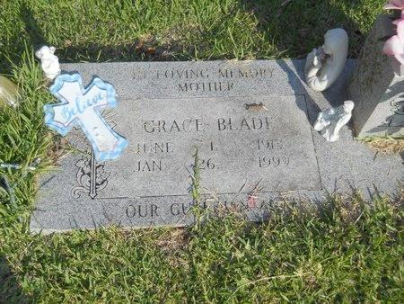 BLADE, GRACE - Warren County, Mississippi | GRACE BLADE - Mississippi Gravestone Photos