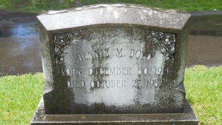 BOYD, BENNIE M - Warren County, Mississippi | BENNIE M BOYD - Mississippi Gravestone Photos