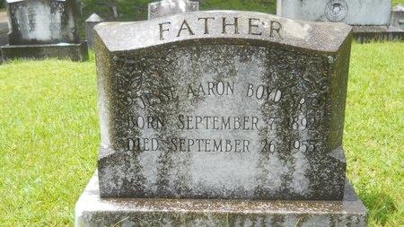 BOYD, JESSE AARON, SR - Warren County, Mississippi | JESSE AARON, SR BOYD - Mississippi Gravestone Photos
