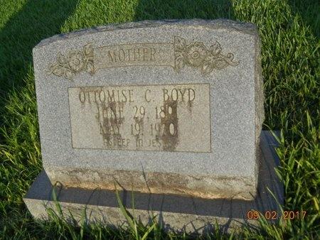 BOYD, OTTOMISE - Warren County, Mississippi | OTTOMISE BOYD - Mississippi Gravestone Photos