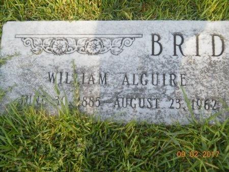 BRIDEWELL, WILLIAM ALGUIRE - Warren County, Mississippi | WILLIAM ALGUIRE BRIDEWELL - Mississippi Gravestone Photos