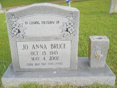 BRUCE, JO ANNA - Warren County, Mississippi | JO ANNA BRUCE - Mississippi Gravestone Photos