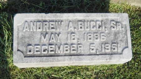 BUCCI, ANDREW A, SR - Warren County, Mississippi | ANDREW A, SR BUCCI - Mississippi Gravestone Photos