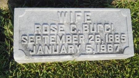 BUCCI, ROSE C - Warren County, Mississippi | ROSE C BUCCI - Mississippi Gravestone Photos