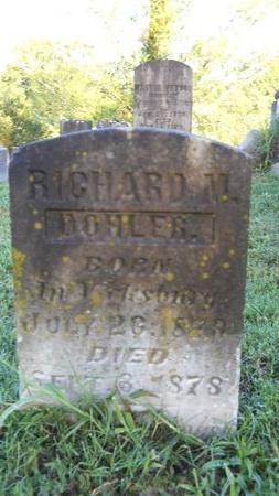 DOHLER, RICHARD M - Warren County, Mississippi | RICHARD M DOHLER - Mississippi Gravestone Photos